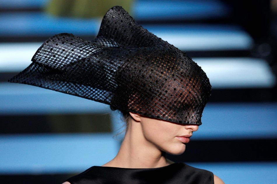 On Heads at Paris Fashion Week Couture Shows (1/6)