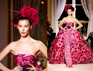 On Heads at Paris Fashion Week Couture Shows (5/6)