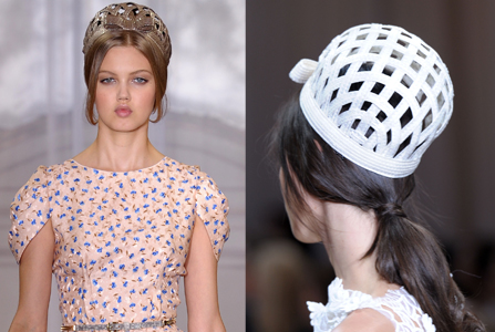 Hats All Over The Spring Summer 2012 Catwalks (5/6)