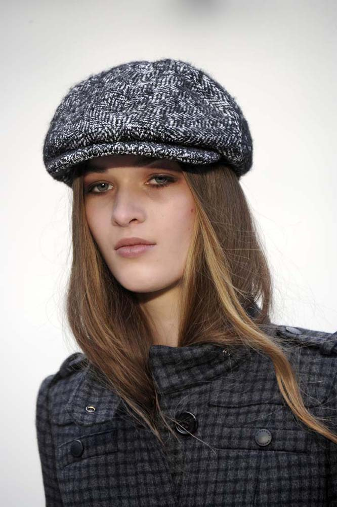 ddf3103321fd1 It was all about the flat cap at Burberry