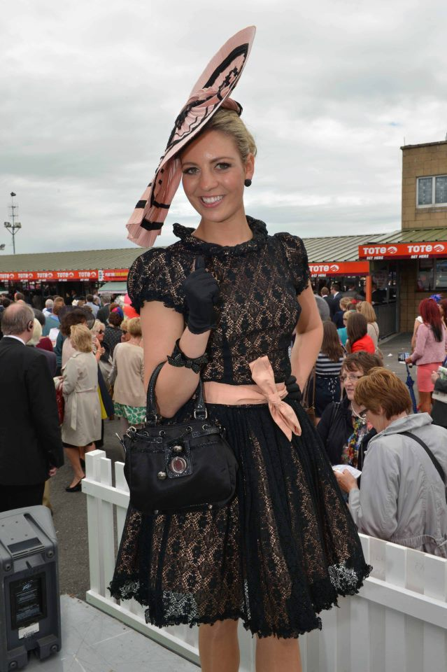 Galway Races Best Dressed Lady 2nd August 2012