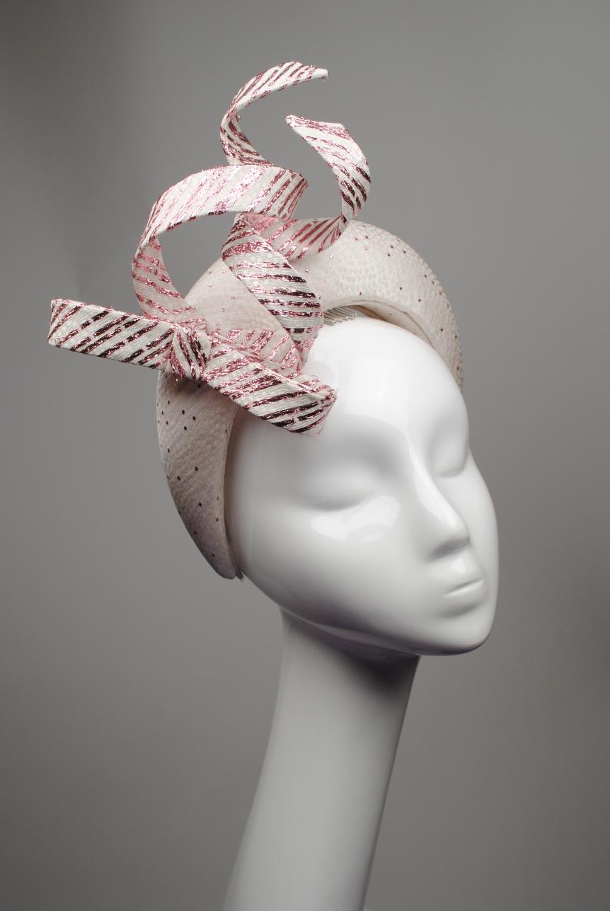 1 Lorna Dress Ivory Pink